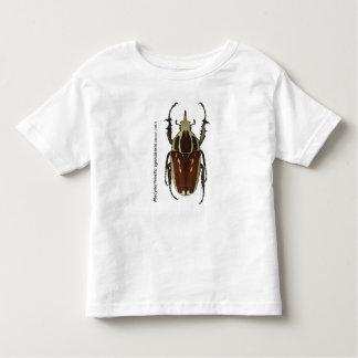 Camiseta del escarabajo de Goliat Playera De Niño
