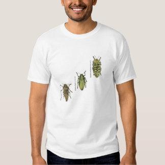 Camiseta del escarabajo de la joya remeras