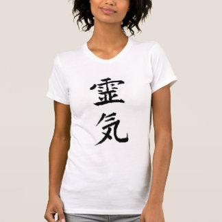 Camiseta del escote redondo de Reiki Playeras