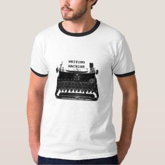 Camiseta del escritor de la MÁQUINA de la Playera