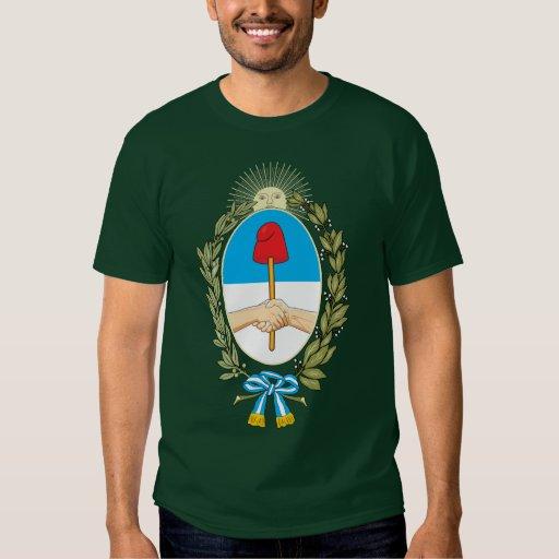 Camiseta del escudo de armas de Buenos Aires Playeras