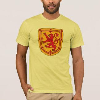Camiseta del escudo de armas de Escocia