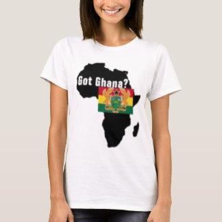 Camiseta del escudo de armas de Ghana y etc