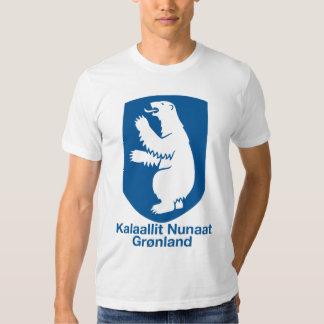 Camiseta del escudo de armas de Groenlandia Remera