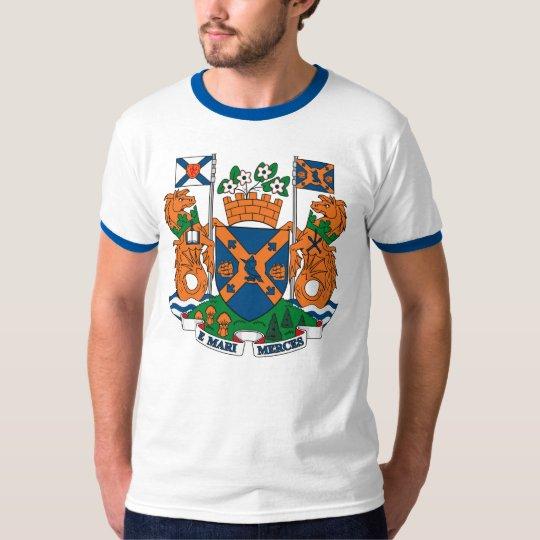 Camiseta del escudo de armas de Halifax