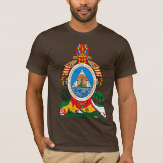 Camiseta del escudo de armas de Honduras