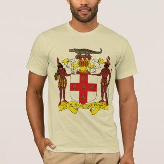 Camiseta del escudo de armas de Jamaica