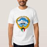 Camiseta del escudo de armas de Kuwait Polera