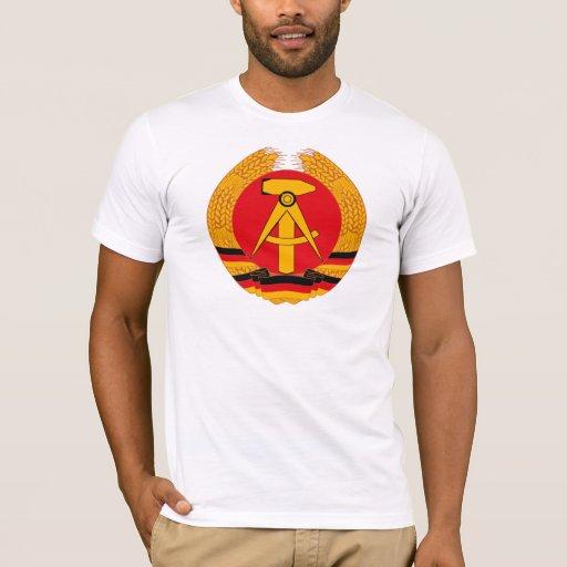 Camiseta del escudo de armas de la Alemania