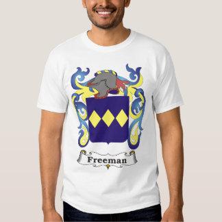 Camiseta del escudo de armas de la familia de camisas
