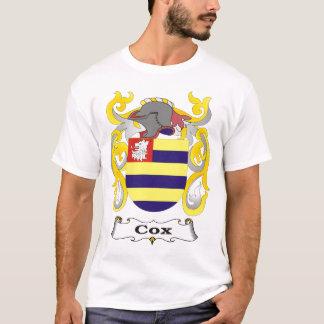 Camiseta del escudo de armas de la familia de $cox