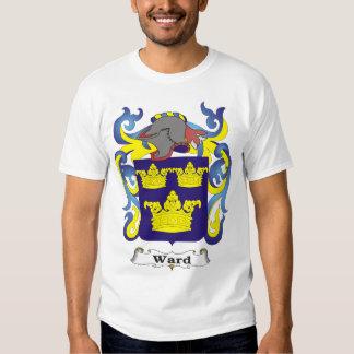 Camiseta del escudo de armas de la familia de la playera