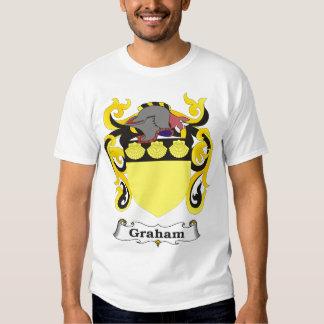 Camiseta del escudo de armas de la familia de playeras