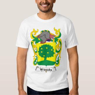 Camiseta del escudo de armas de la familia de poleras