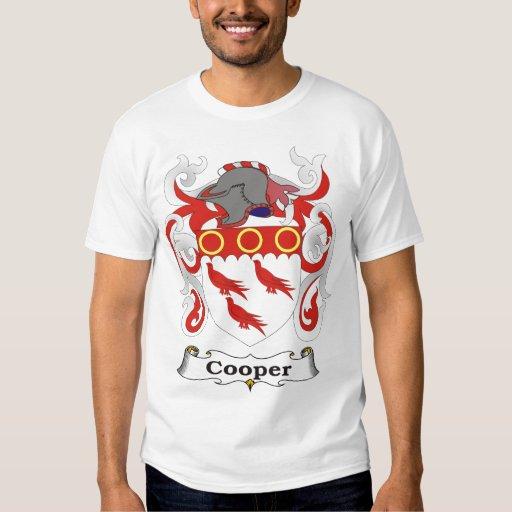 Camiseta del escudo de armas de la familia del polera