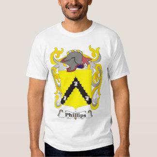 Camiseta del escudo de armas de la familia playeras