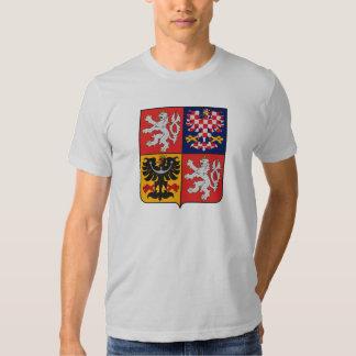 Camiseta del escudo de armas de la República Checa Remeras
