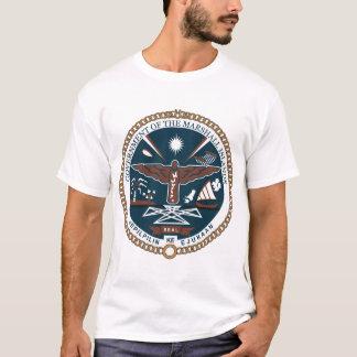 Camiseta del escudo de armas de Marshall Islands