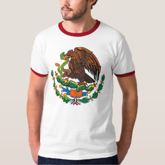 Camiseta del escudo de armas de México