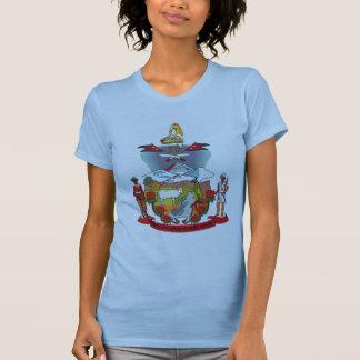 Camiseta del escudo de armas de Nepal