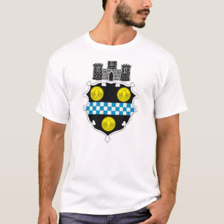 Camiseta del escudo de armas de Pittsburgh