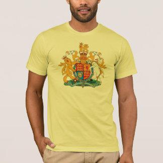 Camiseta del escudo de armas de Reino Unido