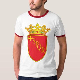 Camiseta del escudo de armas de Roma Remera