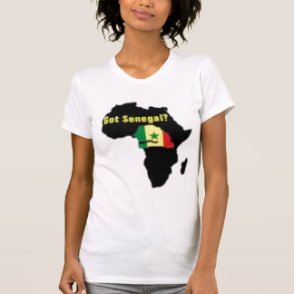Camiseta del escudo de armas de Senegal y etc