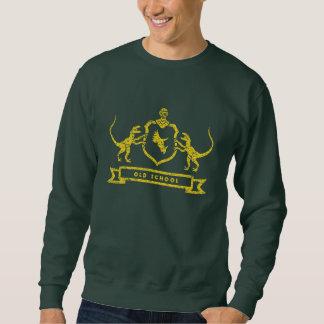 Camiseta del escudo de armas del dinosaurio suéter