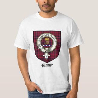 Camiseta del escudo del clan del caminante/tartán remera