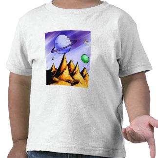 Camiseta del espacio