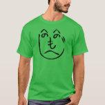 camiseta del espantapájaros de Kakashi del へのへのもへじ