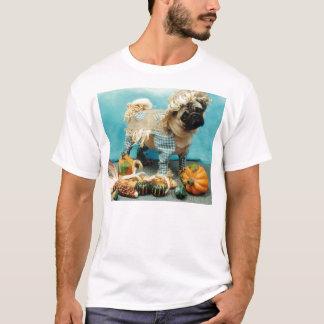 Camiseta del espantapájaros del barro amasado