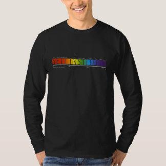 Camiseta del espectro del instituto de SETI
