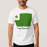 Camiseta del esperanto camisas