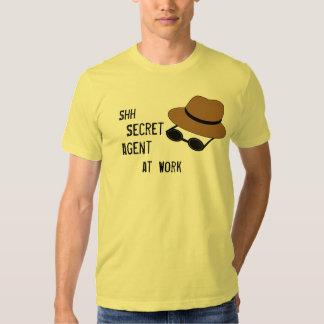 Camiseta del espía para los espías del imitador polera