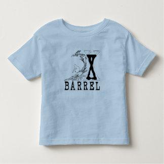 Camiseta del esquema de la resaca del barril X