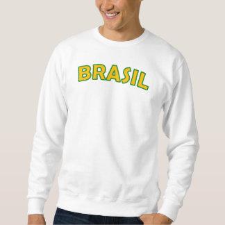 Camiseta del esquema del Brasil Suéter
