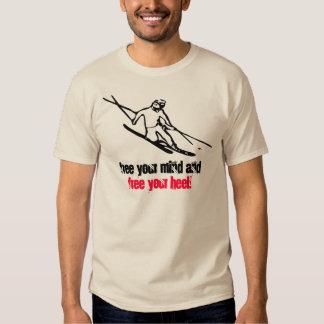 Camiseta del esquí alpino poleras