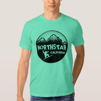 Camiseta del esquiador de los individuos de la playeras
