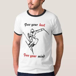 Camiseta del esquiador de Telemark Camisas