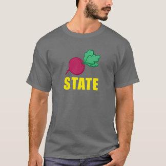 Camiseta del ESTADO de la REMOLACHA