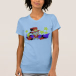 Camiseta del estallido del color de Wallis Polera