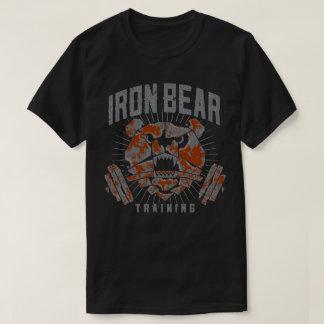 Camiseta del estándar de entrenamiento de IronBear