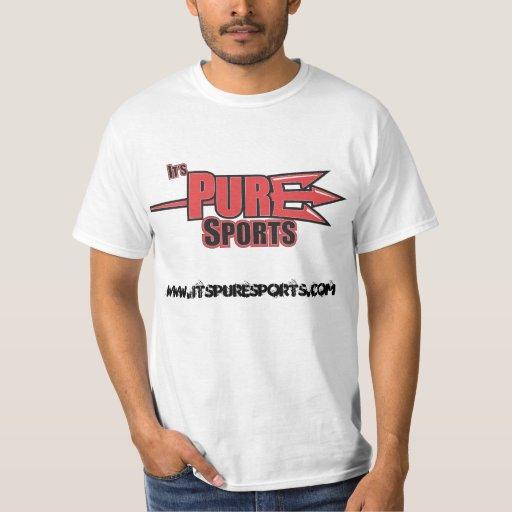 Camiseta del estándar de Itspuresports Playeras