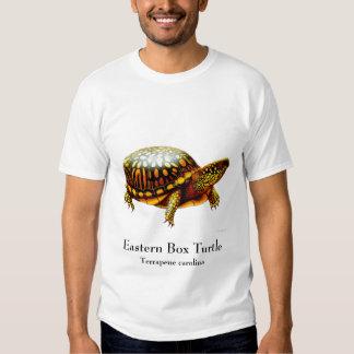 Camiseta del este de la tortuga de caja remera