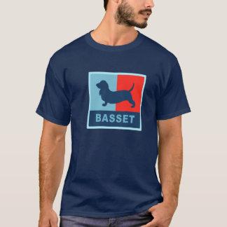 Camiseta del estilo de Basset Hound los E.E.U.U.