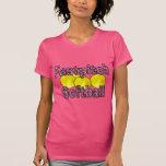 Camiseta del estilo de la cebra del softball de Fa