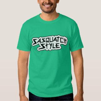 Camiseta del estilo de Sasquatch Remeras