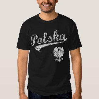 Camiseta del estilo del béisbol de Polska Polera